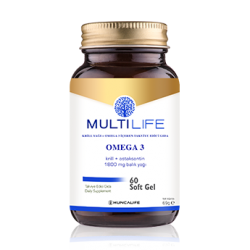 Multilife Omega 3 Softgel  ( HEDİYELİ )