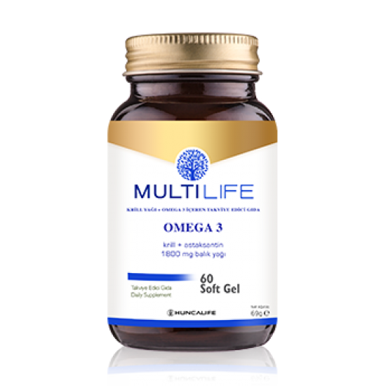 Multilife Omega 3 Softgel  ( HEDİYELİ )